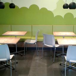 Neue Möblierung Cafeteria Elsterbecken