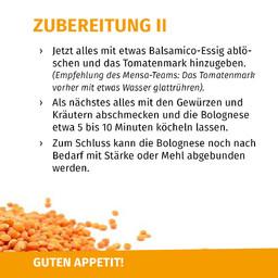 Rezept Linsen-Bolognese 4