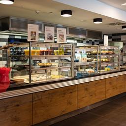 Cafeteria Mensa am Elsterbecken (c) Anne Schwerin