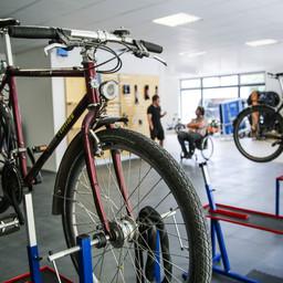 Werkstatt Radschlag: Fahrrad Werkstattplatz