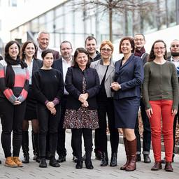 Deutsch-Französische Partnerschaft: Französische Kollegen zu Gast in Leipzig.