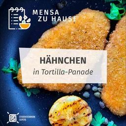 Rezept Hähnchen in Tortilla-Panade Mensa Zuhause
