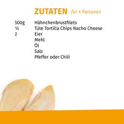 Rezept für Hähnchen in Tortilla-Panade Mensa Zuhause