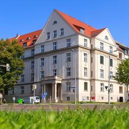 """Studentenwohnheim """"Am Bayerischen Bahnhof"""" Straße des 18. Oktober 17"""
