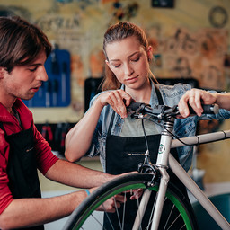 Fahrrad Selbsthilfewerkstatt Reparatur