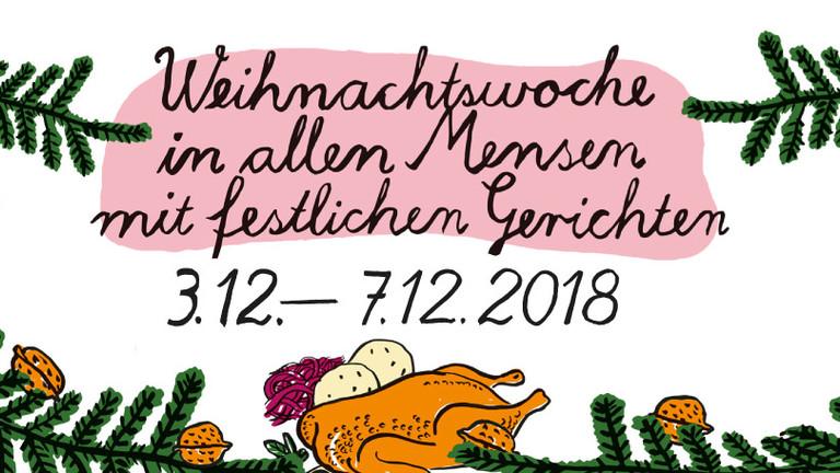 Weihnachtsessen Leipzig.Weihnachtswoche In Allen Mensen Cafeterien Studentenwerk Leipzig