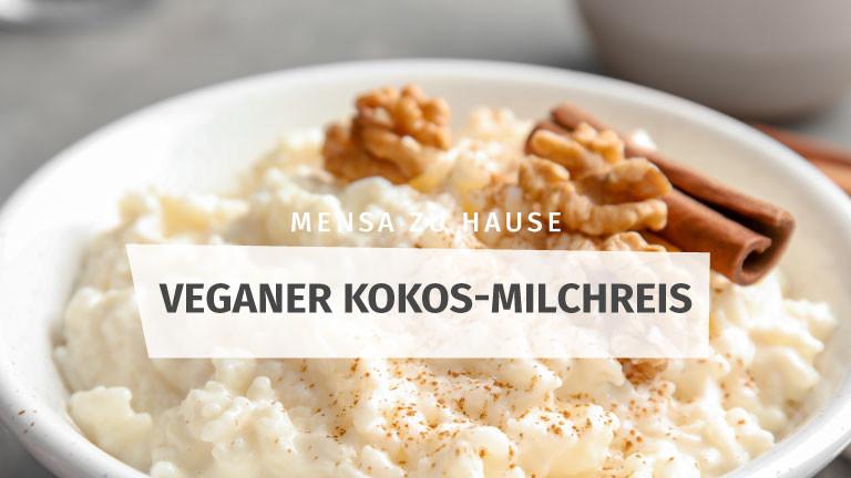 Vegan Kokos-Milchreis Rezept Mensa Zu Hause