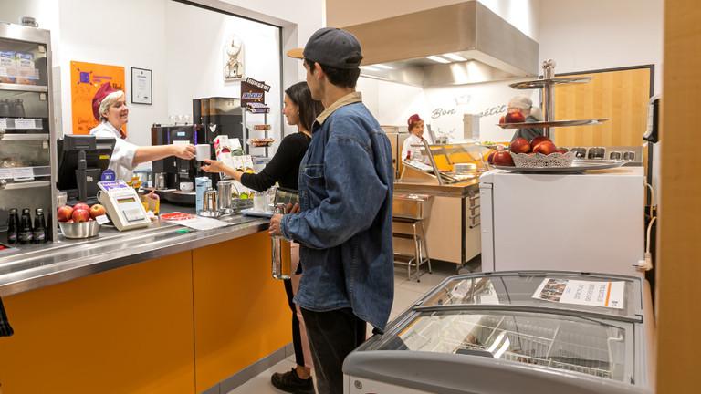 Cafeteria Dittrichring Studentenwerk Leipzig