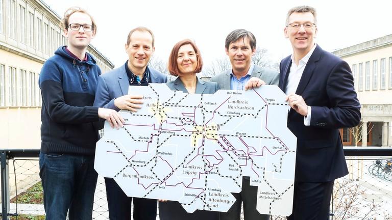 Vertreter des Studentenwerkes Leipzig, MDV und LVB