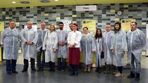 Euro-Schulen Leipzig Mensa am Elsterbecken.