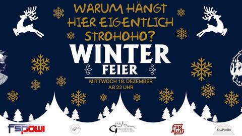 Winterparty Fachschaftsräte Leipzig