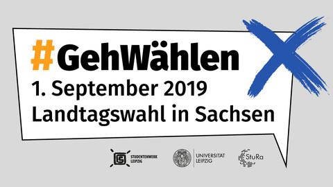 Deine Stimme zählt! 1. September Landtagswahl in Sachsen