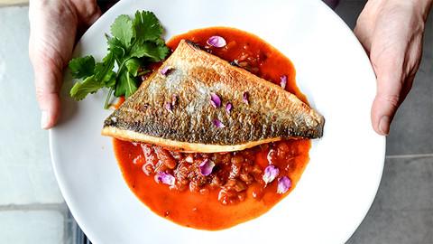 Fischgericht, Mensa Meer & Fluss