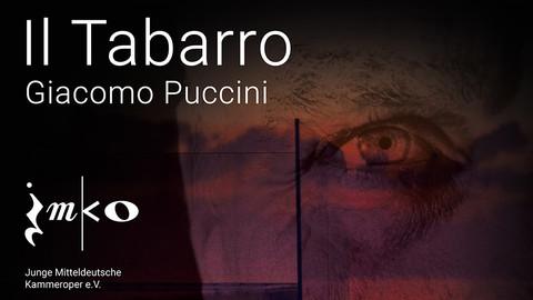Plakat zur Kammeroper Il Tabarro