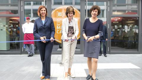 Eröffnung Mensa und Cafeteria am Medizincampus Studentenwerk Leipzig