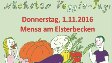 Veggie-Tag Mensa Leipzig am Weltvegantag
