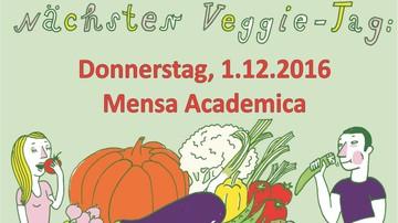 Veggietag Mensa Academica Leipzig