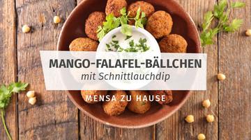 Rezept für Mango-Falafel-Bällchen - Mensa Zuhause