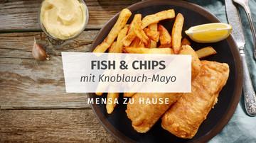 Rezept für Fish and Chips Mensa Zu Hause