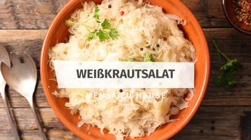 Rezept Weißkrautsalat Mensa zu Hause