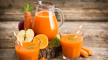 Mensa zu Hause Rezept Apfel-Karotten-Ingwer-Smoothie