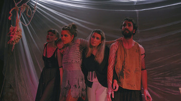 Aufführung Moby Dick, Freies Ensemble Jedermann, Foto von Maria Obermeier