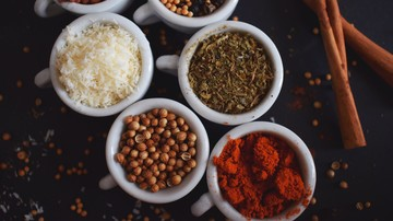 Internationale Küche, exotische Gewürze