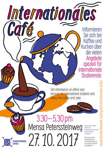 einladung zum 4. internationalen café | studentenwerk leipzig, Einladung