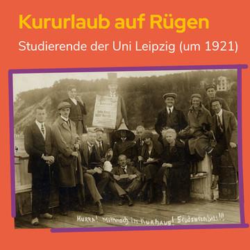 Studierende beim Kururlaub auf Rügen