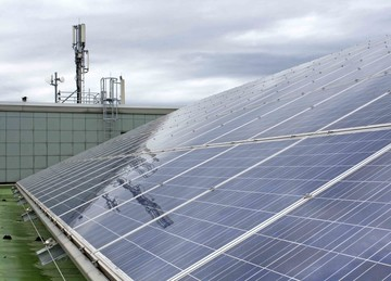 Solaranlage Wohnheim Mainzer Straße 2