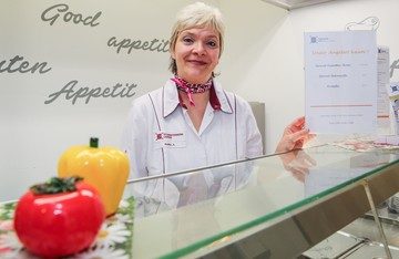 Astrid Kober Cafeterialeiterin