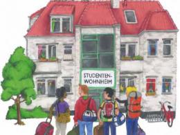 Illustrierte Wohnheimwörterbücher