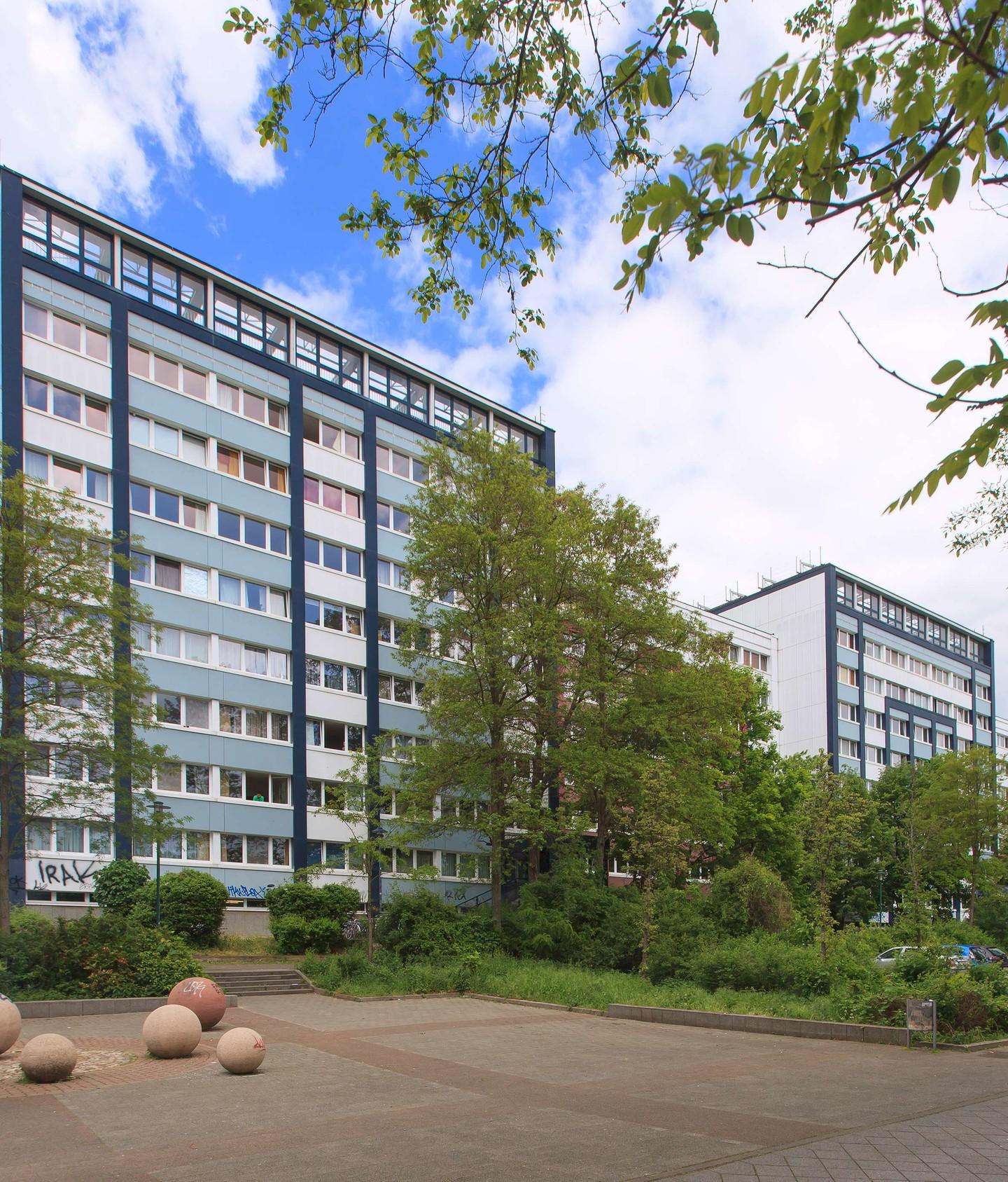 Studentenwerk Wohnen Wohnheime In Saarbr: Johannes-R.-Becher-Straße 3-11